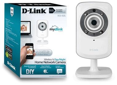 Camaras IP D-Link DCS-932L