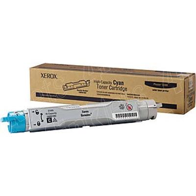 Xerox High-Capacity - Cartucho de tóner - gran capacidad - 1 x cián - 7000 páginas 106R01082