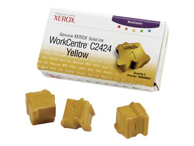 TINTA SOLIDA (3 YELLOW) XEROX 108R00662 (2424)