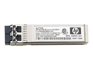 HP - Transceiver module - SFP - 8Gb Fibre Channel (SW) AJ716A