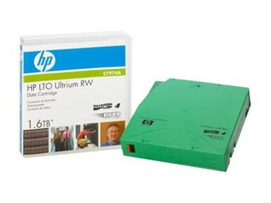 HP LTO4 Ultrium 1.6TB RW Data Tape C7974A