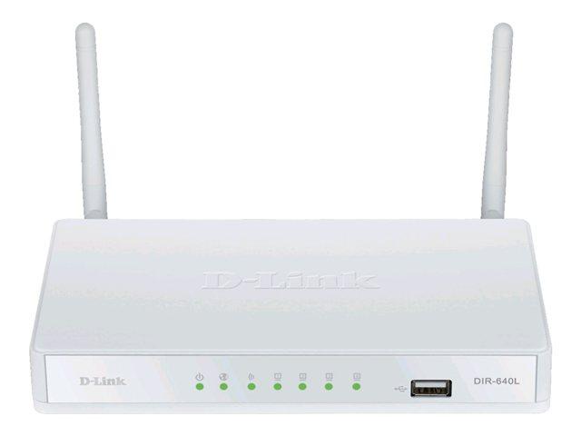 D-Link Wireless G VPN Router DIR-640L-Wireless router 4-P