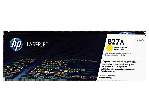 HP 827A - CF302A - toner cartridge - 1 x yellow - 32000 page