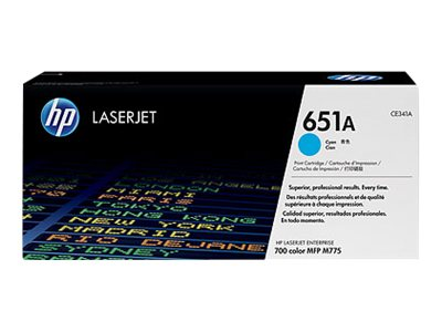 HP Toner CE341A para HP MFP 775 Cyan