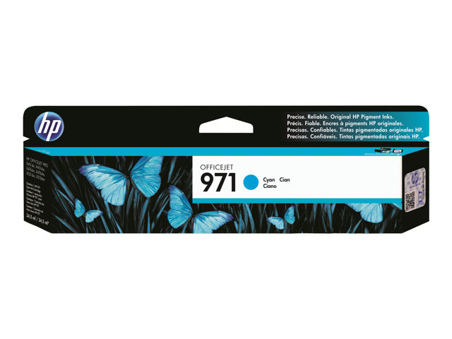 HP 971 - CN624AM Print cartridge - 1 x yellow