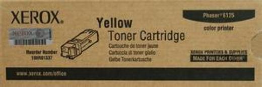 TONER LASER COL.YELLOW XEROX 106R01337