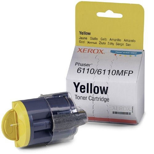 TONER LASER COLOR YELLOW XEROX 106R01204