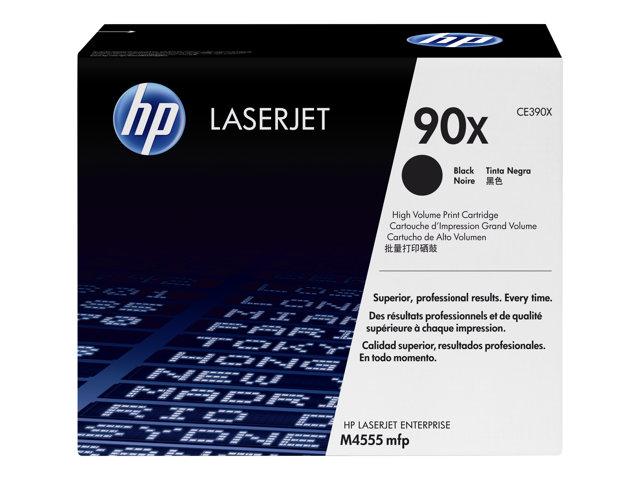 HP 90X CE390XD Black Dual Pk LJ Toner Cartridge