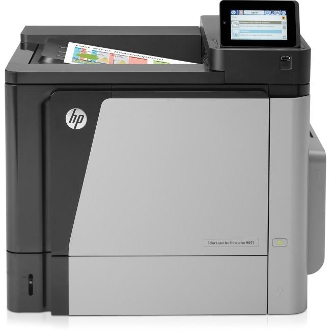 HP Color LaserJet Ent M651dn Printer 45ppm