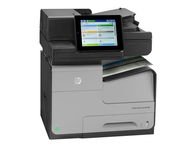 HP Officejet Ent Color MFP X585f Prntr