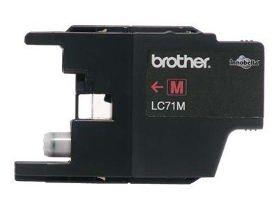 Brother LC71M - Print cartridge - 1 x magenta - 300