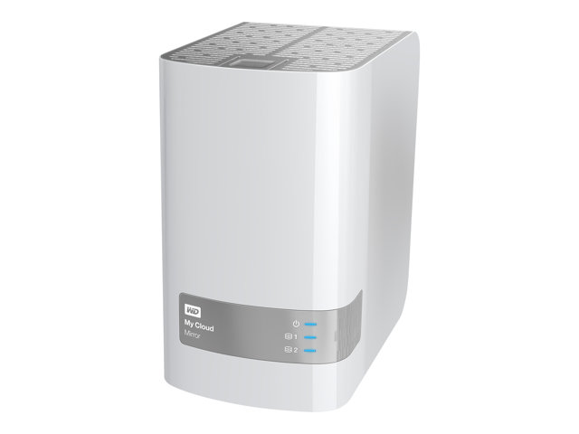 WD My Cloud Mirror 4TB 3.5 Ethernet/USB3 Home Network drive