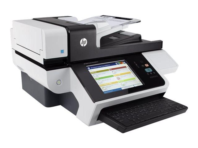 HP DigtlSndr Flow 8500 fn1 Doc Cap Wkstn