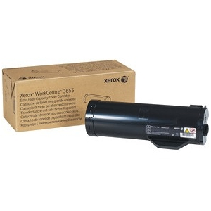 TONER ORIGINAL XEROX BLACK EXTRA HIGH CAPACITY WC 3655 25.900 PAG.