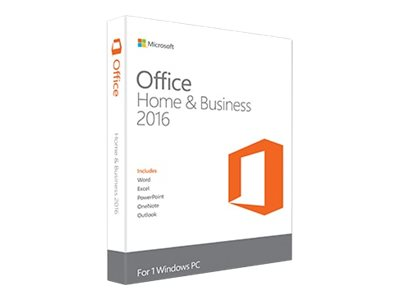 MICROSOFT OFFICE 2016 HOME AND BUSINESS 2016