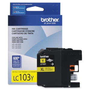 BROTHER CARTRIDGE LC103Y