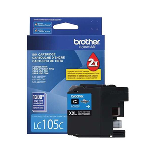 BROTHER CARTRIDGE LC105C J4410-4510-4610DW 1200 PAG
