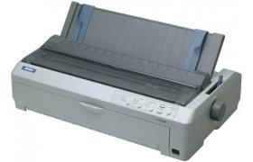 Epson FX 2190 - Impresora - B/W - matriz de puntos - 420 x 559 mm, papel continuo en zig-zag (40,6 cm) - 9 espiga - hasta 680 caracteres/segundo - capacidad: 1 hojas - paralelo, USB