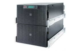 APC Smart-UPS RT - UPS ( montaje en bastidor ) - CA 220/230/240 V - 12 kW - 15000 VA - Ethernet 10/100, RS-232 - 10 conector/es de salida - 12U