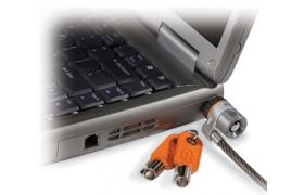 Kensington Candado de Seguridad para Notebook Microsaver con llave Safe Pro - Bloqueo de cable de seguridad - 1.8 m