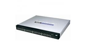 Cisco Small Business 300 Series Managed Switch SG300-52 - Conmutador - Capa 3 - Gestionado - 52 puertos - Ethernet, Fast Ethernet, Gigabit Ethernet - 10Base-T, 100Base-TX, 1000Base-T 2 x SFP compartid