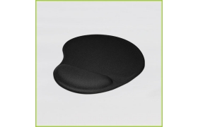 Mouse Pad de Gel  NEGRO