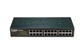 D-Link DES 1024A - Conmutador - sin gestionar - 24 x 10-100 - sobremesa