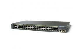 Cisco Catalyst 2960-48TT - Conmutador - 48 puertos - EN, Fast EN - 10Base-T, 100Base-TX 2x10/100/