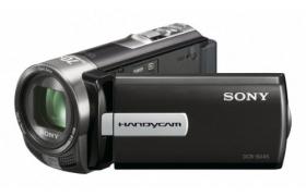 SONY HANDYCAM DCR-SX45 60X 75 SD/PRO DUO