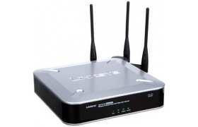 Cisco Small Business WAP4410N Wireless-N Access Point - PoE/Advanced Security - Punto de acceso inalámbrico - 802.11b/g/n (draft)