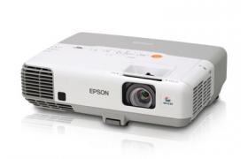 Epson PowerLite 900 - Proyector LCD - 3000 ANSI lumens - XGA (1024 x 768) - 4:3 - HDMi - Proyecta por RED - Opcional Wireless