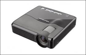 ViewSonic PLED-W200 - Proyector LED - 200 ANSI lumens - WXGA (1280 x 800) - pantalla ancha - Alta definición 720p