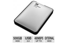 WD MY PASSPORT MAC 2.5 IN 500GB USB BLACK