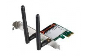 D-Link Xtreme N PCI Express Desktop Adapter DWA-566 - Adaptador de red - PCIe - 802.11b, 802.11a, 802.11g, 802.11n