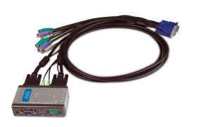 DLK KVM-121 2 PORT V/M/T DKVM-121 WITH AUDIO SOPPORT