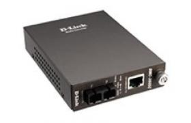 D-Link DMC 300SC - Convertidor de medios - 10Base-T, 100Base-FX, 100Base-TX - RJ-45 - modo múltiple SC - externo - hasta 2 km