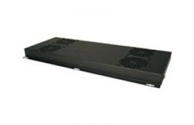 Tripp Lite SmartRack - Techo de rekoñña con ventilador (120 V) - negro