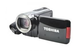 Toshiba CAMILEO X100 - Cámara de vídeo portátil - Alta definición - 10.0 Mpix - 10 zoom óptico x - flash 4 GB - tarjeta flash