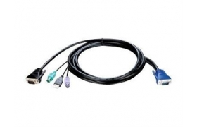 DLINK KVM Cable in 3m 10ft for KVM-440/450 Switch