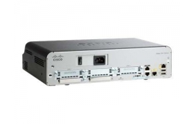 Cisco 1941 w/2 GE2 EHWIC slots256MB CF512MB DRAMIP Base