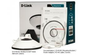 D-Link DCS-6010L Camara Wireless N 3600 HD Micro SD domo MyD