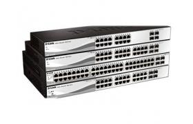 DLK DGS-1210-28 24-ports G - 4-ports Cbo UTP/SFP; Smart III