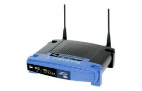 LKS WRT54GL Wireless-G Broadband Router with Linux