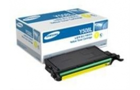 Samsung CLT-Y508L Yellow Toner cartridge 4k pages