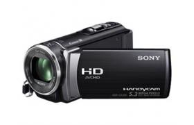SONY HANDYCAM HDR-CX200 SILVER FULL HD 25X 2.7