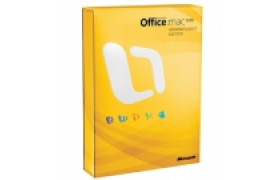 MS Office Mac Home Student 2011 Spanish LATAM EM DVD