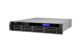 QNAP NAS RACK 2U 8 BAHIAS SIN DISCO Core i3-2120/2G/USB 3.0