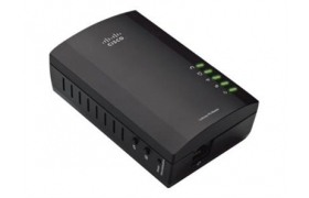 Linksys PLWK400 Powerline HomePlug + Wi-Fi Video Audio Ready