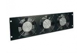 Tripp Lite SmartRack - Rack fan tray (230 V) - bla