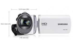 SAMSUNG VIDEO CAMARA DIGITAL HMX-F90WN 5MPIX 52x ZOOM BLANCA